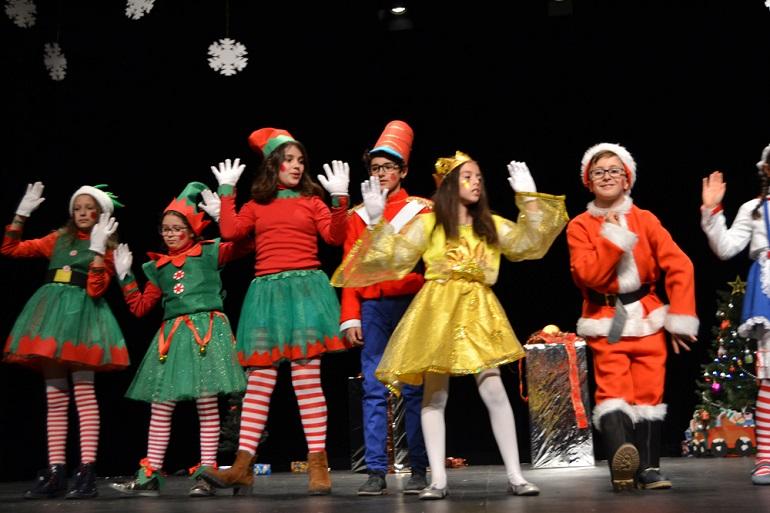 Almagro Los colegios almagreños celebran la Navidad 2017
