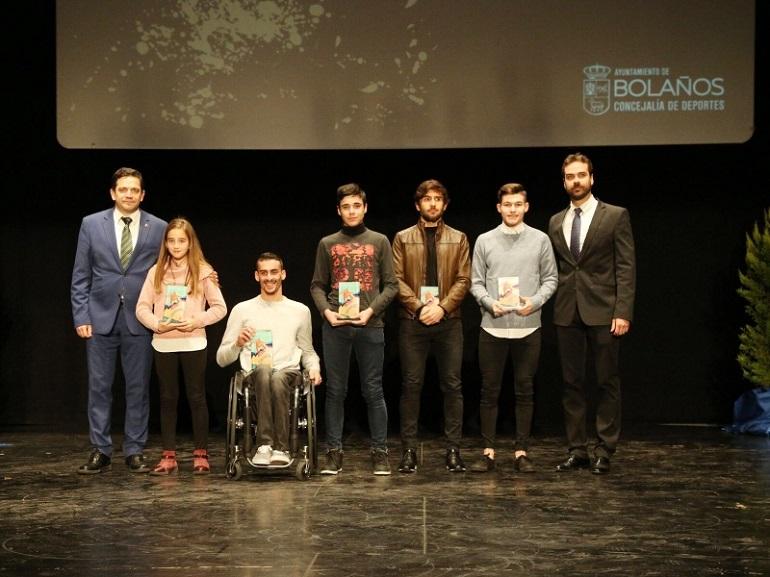 Bolaños distinguió a sus deportistas en la Gala del Deporte 2017