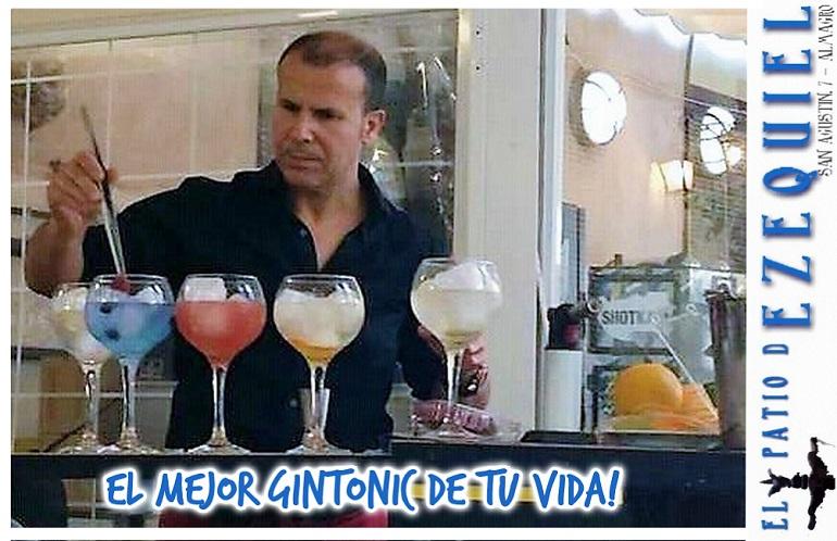"""""""El Mejor GinTonic de tu Vida"""" - El Patio de Ezequiel - San Agustín, 7 - ALMAGRO"""