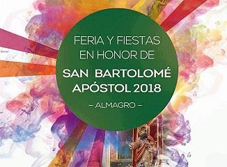 Almagro: Feria y Fiestas 2018 en honor a San Bartolomé Apóstol