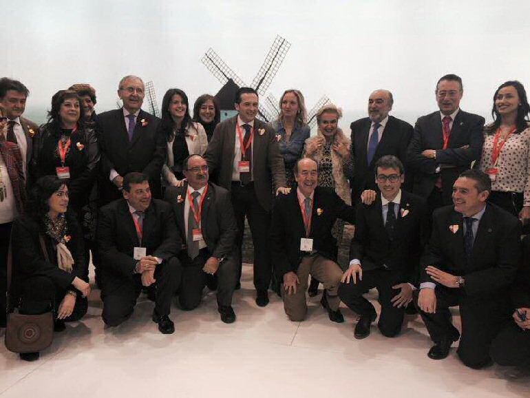 Alcaldes de la provincia dan a conocer las propuestas turisticas de sus respectivas localidades en FITUR 2015