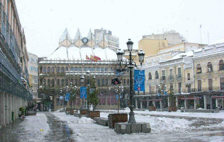 Alerta por nieve en Castilla La Mancha, Ciudad Real incluida