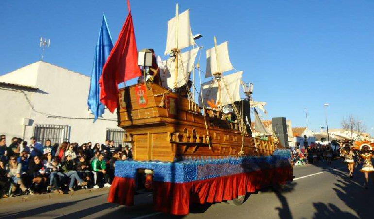 Bolaños celebra este año su XXXIII Desfile de Carrozas y Comparsas