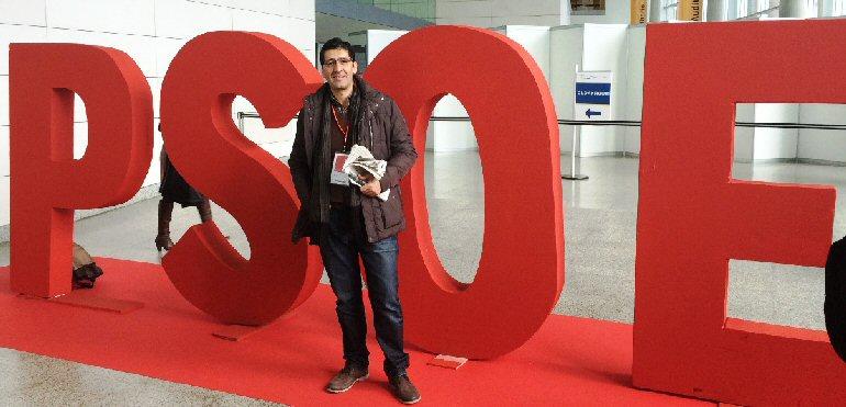 Caballero participa en la Conferencia Autonómica que el PSOE celebra durante todo el fin de semana en Valencia