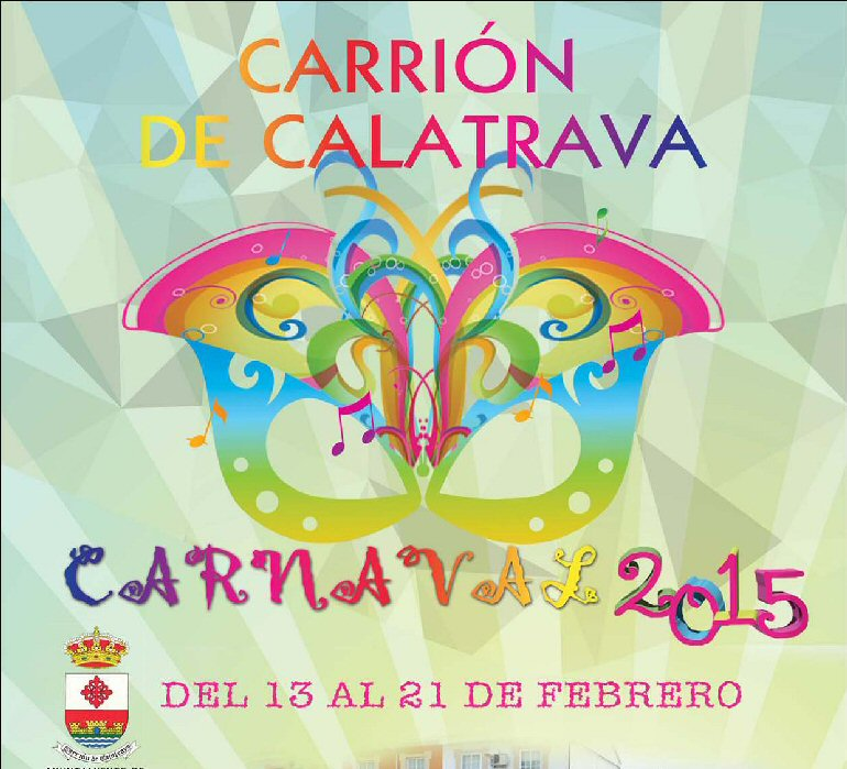 Carrión de Calatrava Programación Carnaval 2015