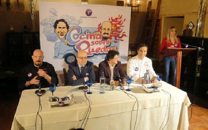 Daimiel Cocina Sobre Ruedas nuevo programa de RTCLM presentado por Rubén Sánchez-Camacho