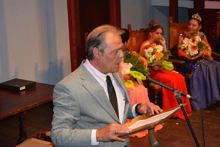 Almagro Emotivo pregón inaugural de la Feria y Fiestas 2015 a cargo de Paco Borlado Milla