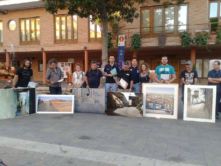 Ganadores Concurso Pintura Rapida Bolaños 2015