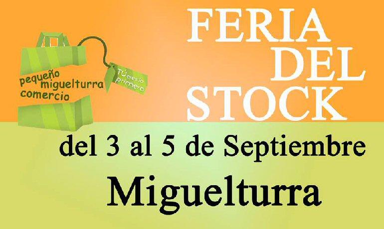 Miguelturra La Asociación del Pequeño Comercio celebra la VII Feria del Stock del 3 al 5 de septiembre