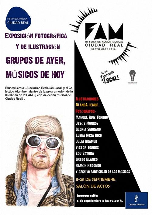 Ciudad Real Música y Fotografía en la III Feria Acción Musical que se celebra este lunes en la Biblioteca General