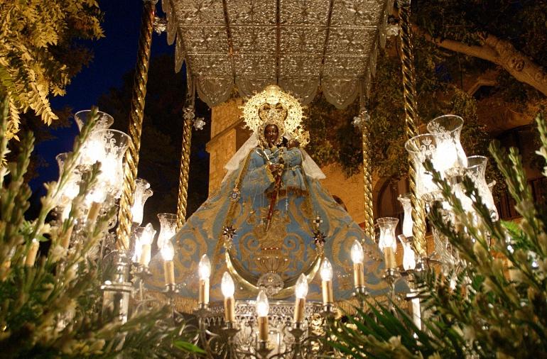 Daimiel La Morenita no faltó a la cita con sus fieles daimileños