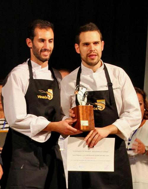 el-chef-almagreno-jesus-villarejo-medalla-de-bronce-en-el-prestigioso-concurso-nacional-de-alta-cocina-aplicada-al-langostinos-de-vinaros