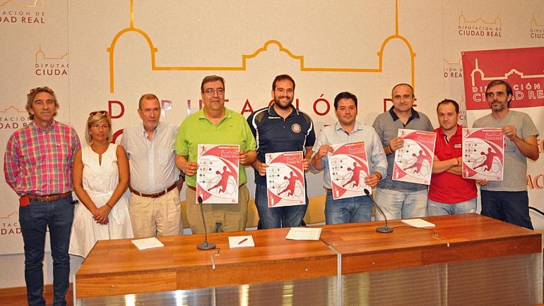 Este fin de semana comienza el Trofeo Diputación Provincial de Balonmano