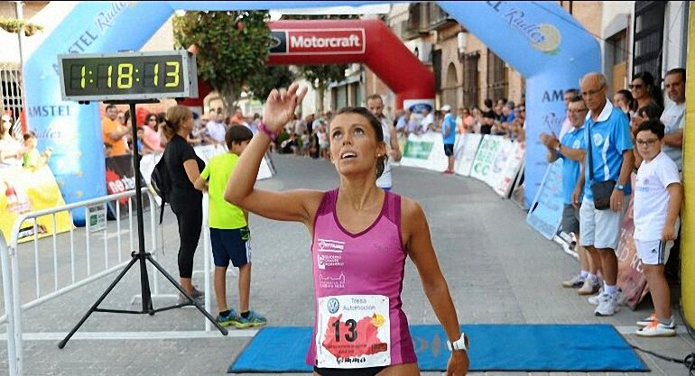 Gemma Arenas bate su propia marca personal en la Media Maratón de Torralba de Calatrava