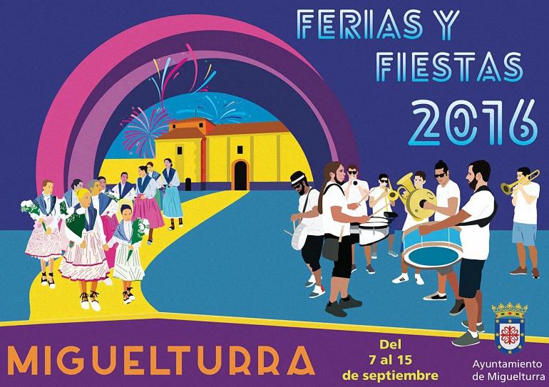 Miguelturra en Fiestas! Programación Feria y Fiestas 2016
