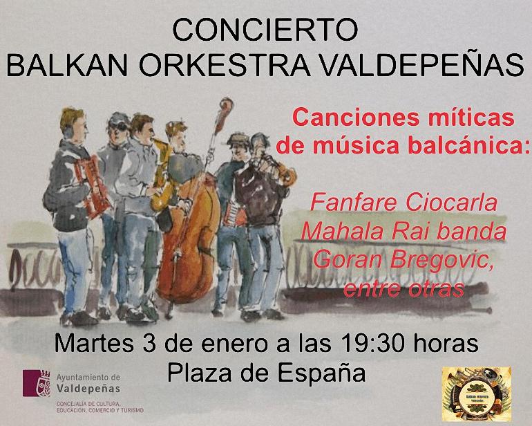 aires-balcanicos-con-la-balkan-orkestra-valdepenas-en-la-plaza-de-espana-el-proximo-martes