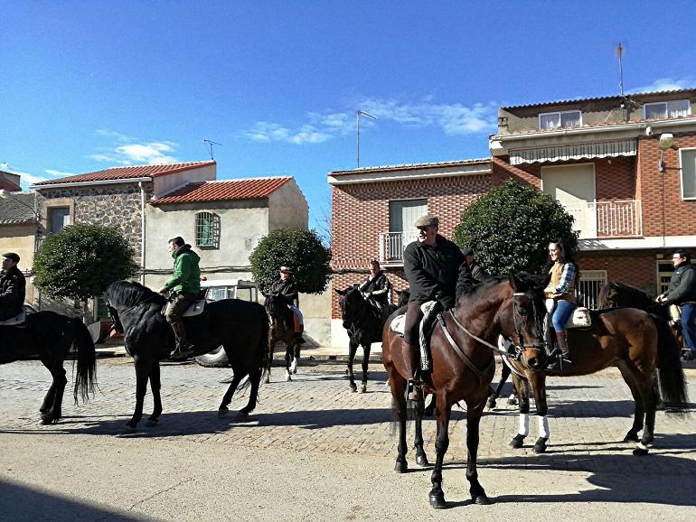 Aldea del Rey celebró este fin de semana la festividad de San Antón