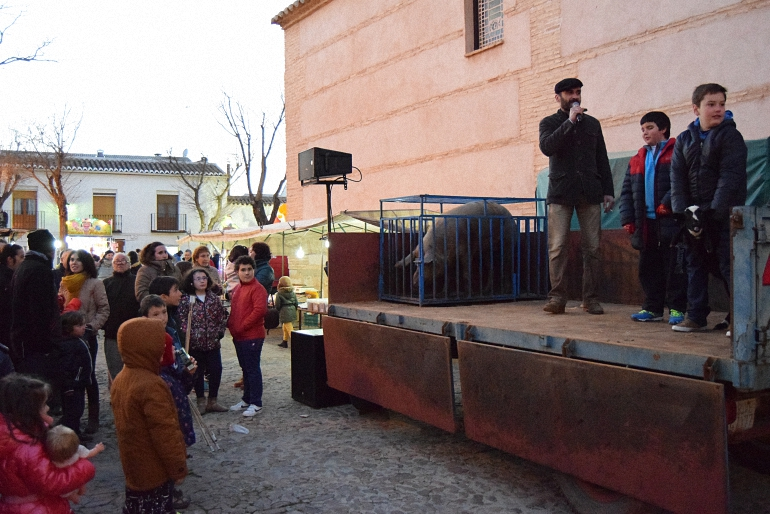 Almagro El 0520 resultó el número agraciado por el Guarrillo de San Antón