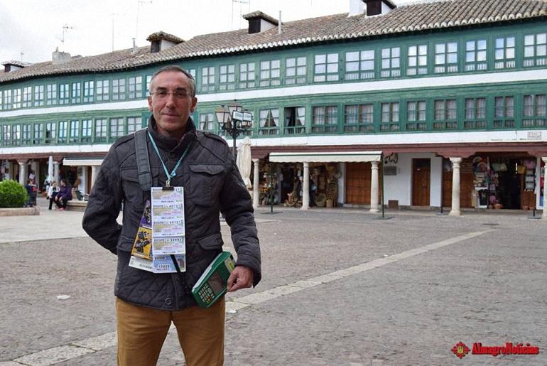 Almagro Premiado un cupón de la ONCE con 35.000 euros