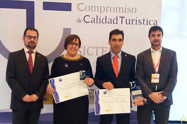 Almagro ha recibido hoy el el premio al Mejor Destino Turístico de Calidad en FITUR 2017