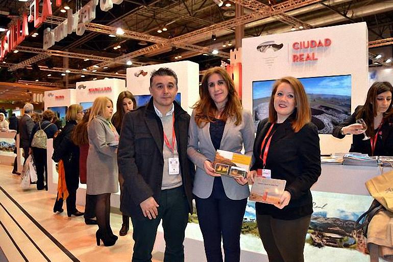 Carrión de Calatrava difundió sus recursos turísticos en FITUR 2017