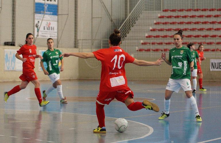 El Almagro FSF sin gol pierde en casa ante el CD Guadalcacín