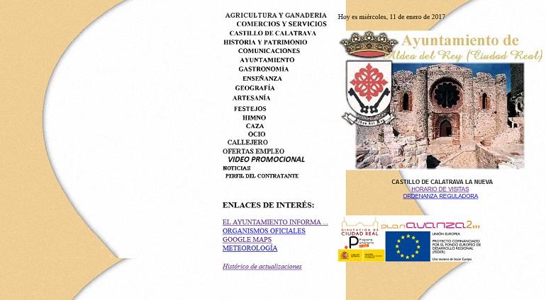 el-ayuntamiento-de-aldea-del-rey-estrena-pagina-web-este-sabado