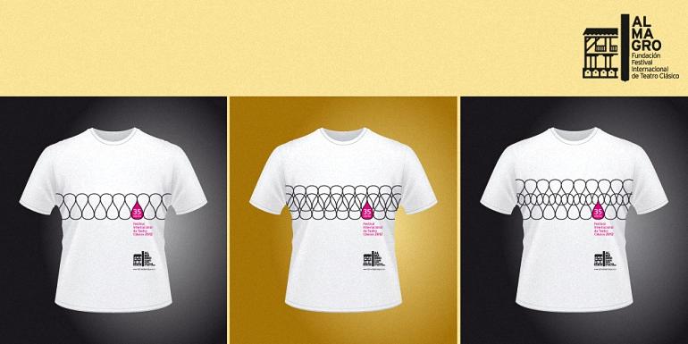 Abierto el plazo del certamen para diseñar la camiseta oficial de la 40 Edición del Festival Internacional de Teatro Clásico de Almagro