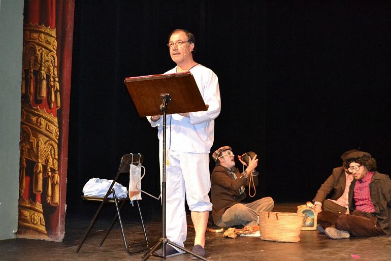 Almagro El Gran Arturo llenó de buen humor el Teatro Municipal durante el Pregón del Carnaval 2017