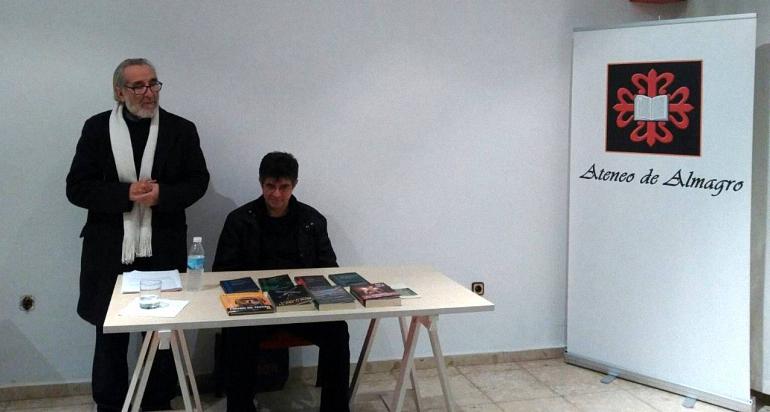 Almagro Francisco Romero, dentro del ciclo Encuentros con nuestros creadores del Ateneo