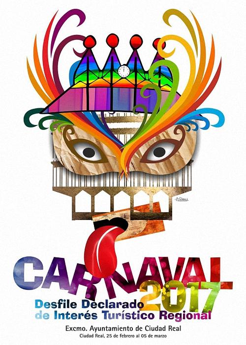 Ciudad Real programa su Carnaval 2017