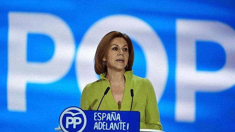 Cospedal se presentará a revalidar su presidencia del PP en Castilla La Mancha