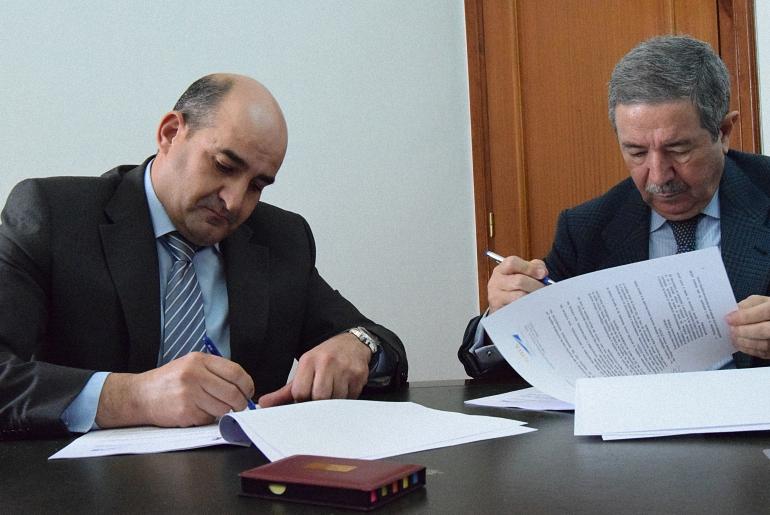 Pozuelo de Calatrava y el Aeropuerto de Ciudad Real firman un convenio para el control de obstáculos que garantice la seguridad aérea y actividades aeroportuarias