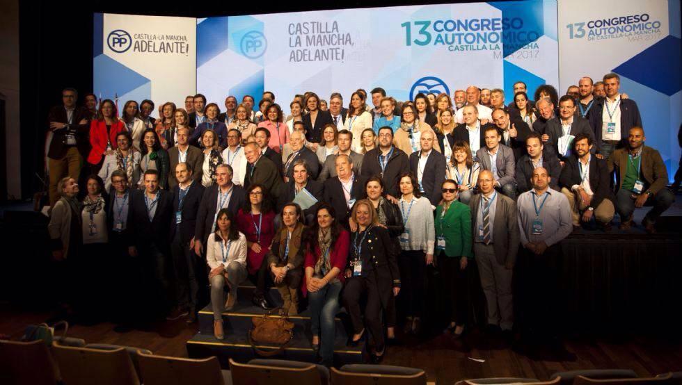 Alcaldes del Campo de Calatrava elegidos para cargos en el nuevo Comité Ejecutivo Regional del Partido Popular