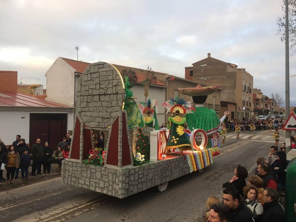 Bolaños Casi diez mil euros en premios para el XXXV Desfile de Carrozas y Comparsas en el que han participado más de mil quinientas personas