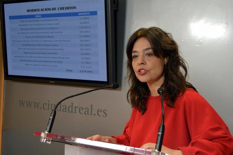 Ciudad Real Más de dos millones de euros para llevar a cabo doce obras de importancia para la capital