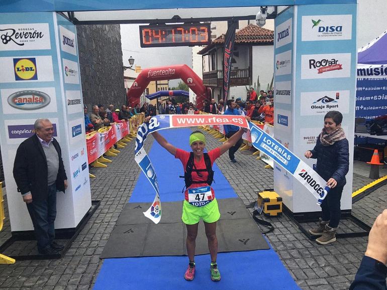 Gemma Arenas se proclama Campeona de España de Trail