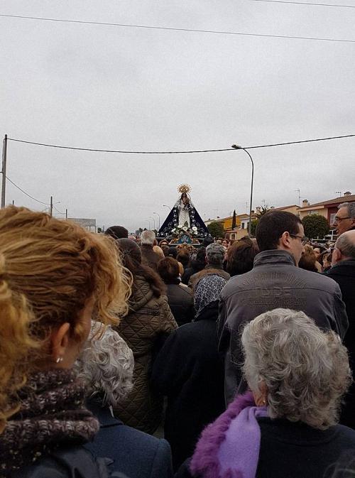 Regreso al Santuario de la Virgen de las Nieves patrona de Almagro