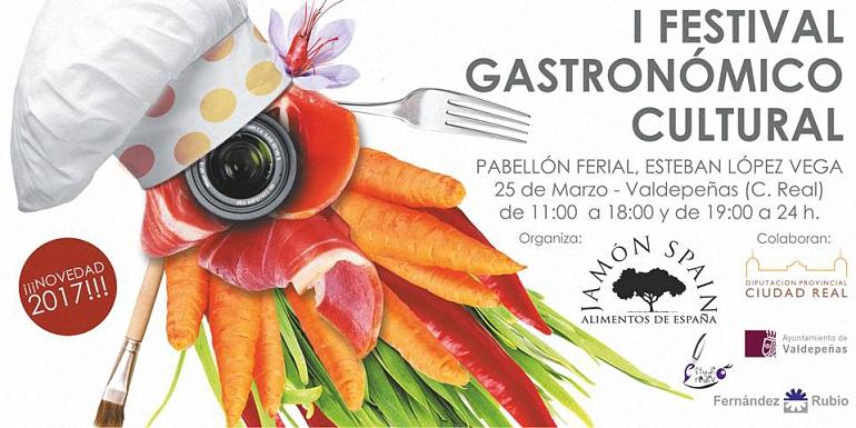 Valdepeñas Programación Oficial del I Festival Gastronómico y Cultural Jamón Spain