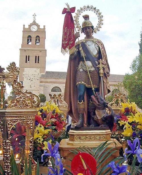 Aldea del Rey celebra este fin de semana sus fiestas patronales en honor a San Jorge Mártir
