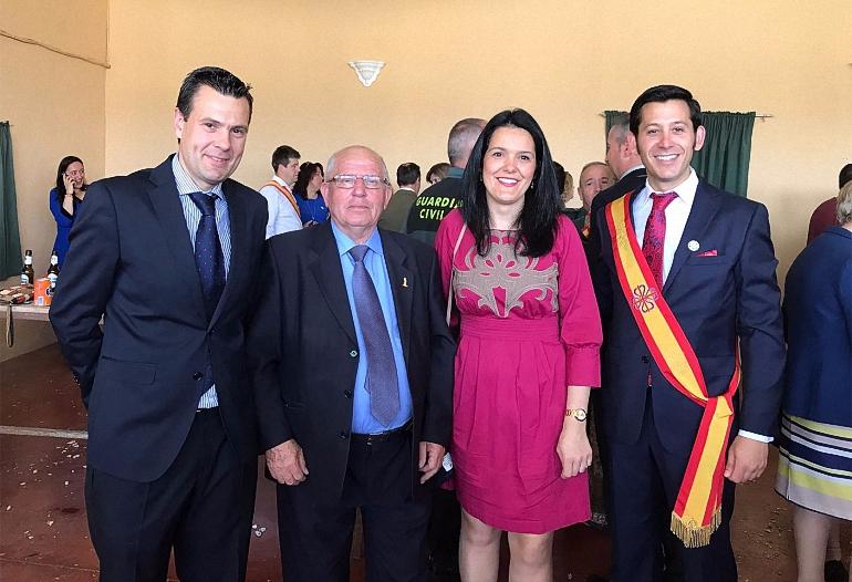 Aldea del Rey rindió homenaje a su Patrón San Jorge Mártir