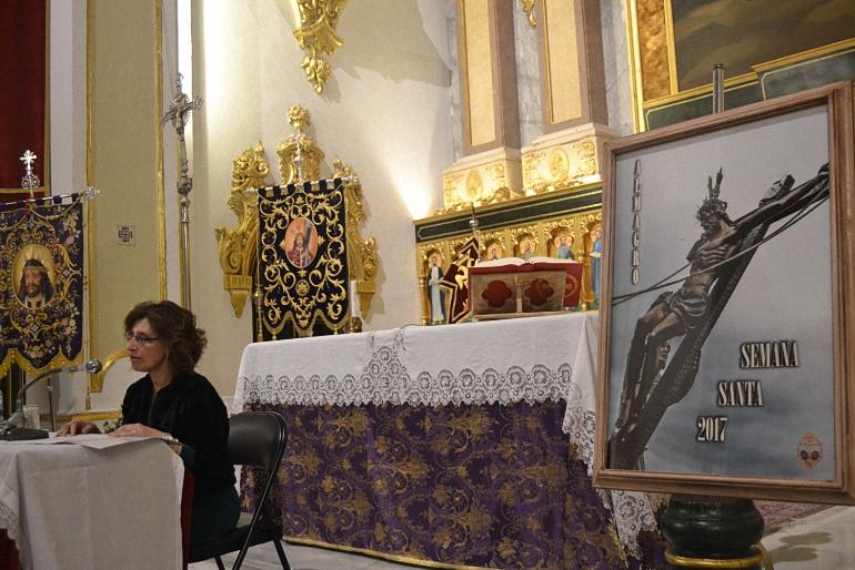 Almagro Nieves Guzmán pregonó la Semana Santa almagreña