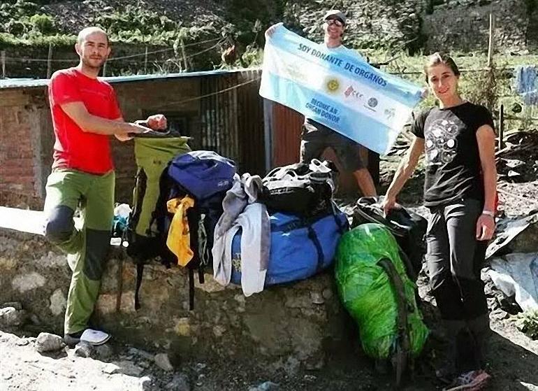 Almagro Un alpinista almagreño en la primera expedición de la historia hacia la cima del Sharpu IV en el Himalaya