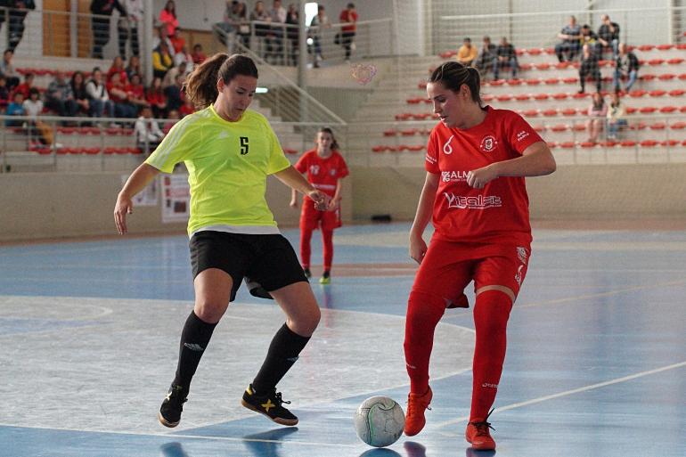 El Almagro FSF venció con solvencia al Sevilla con dos golazos que hizo vibrar a los aficionados que llenaban el Ciudad de Almagro