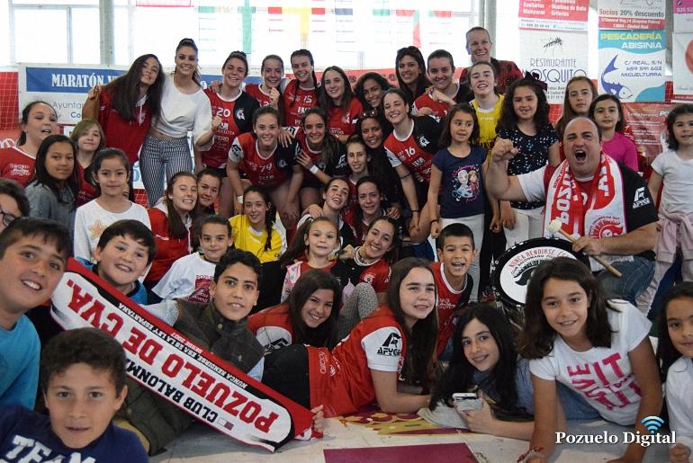 El BM Pozuelo de Calatrava Juvenil Femenino ganó su pase a la Fase Final del Campeonato de España de Clubes 2017