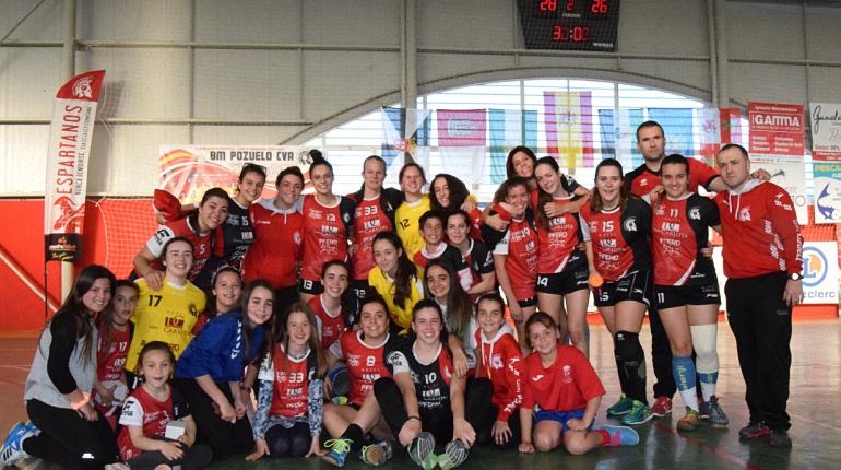 El BM Pozuelo de Calatrava Senior Femenino se despidió de la liga con una victoria sobre el BM Leganés