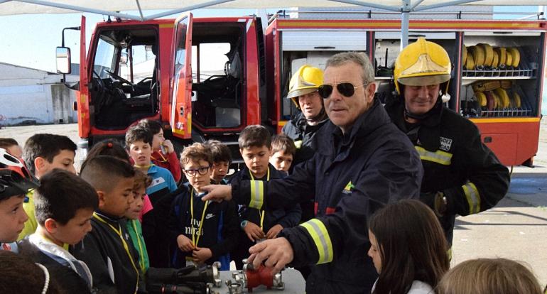 Emergencia Ciudad Real en las II Jornadas de Seguridad Vial de Pozuelo de Calatrava