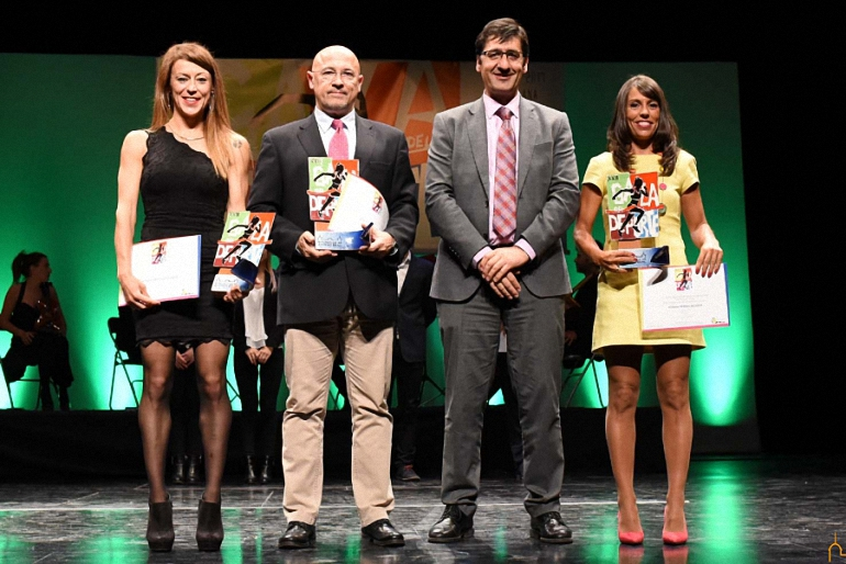 Gemma Arenas, Fco. José García Torres y Fco Javier Sánchez Lara han sido los ganadores de la XXII Gala Provincial del Deporte de la Diputación Provincial de Ciudad Real