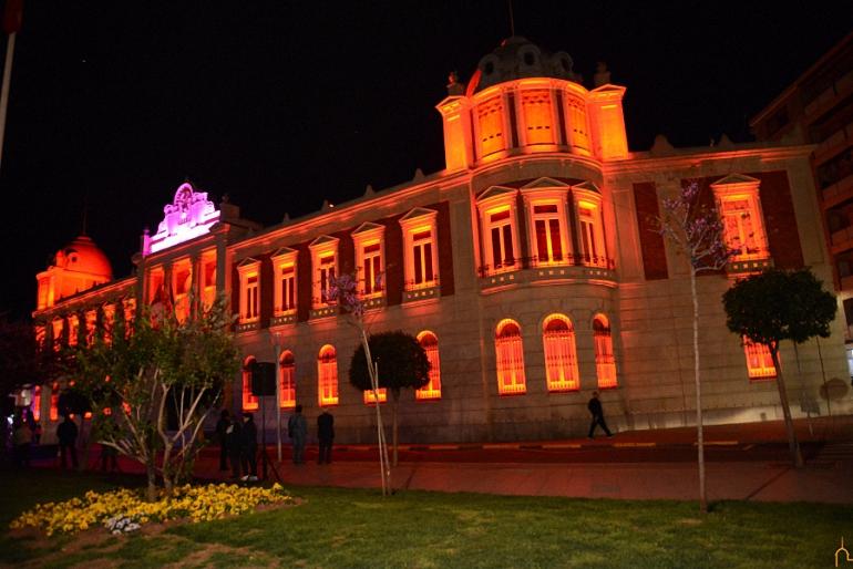 La Diputación Provincial de Ciudad Real inaugura nueva imagen de luz y color