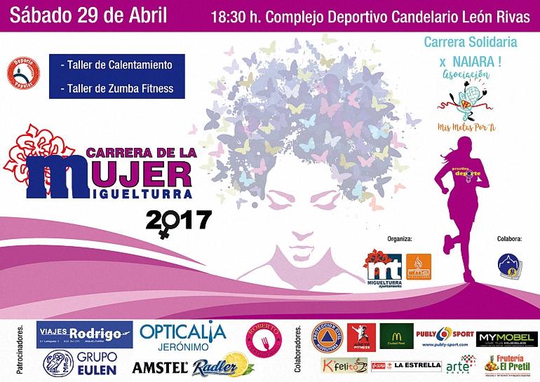 Miguelturra Abierto el plazo de inscripción para una nueva edición de la Carrera de la Mujer